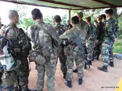 Entrenamiento con la Compañía de Cazadores de Monte 18. Misiones 2013