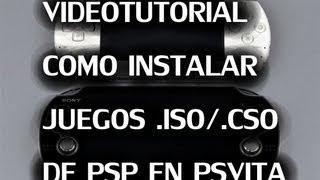 getlinkyoutube.com-Tutorial juegos ISO/CSO de PSP en PSVITA (Firmware necesario 1.81 o anterior)