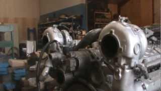 getlinkyoutube.com-Detroit Diesel 16 V 92 TA Rebuild