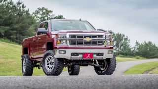 "getlinkyoutube.com-2014 Chevy Z71 with 6"" Rough Country lift"