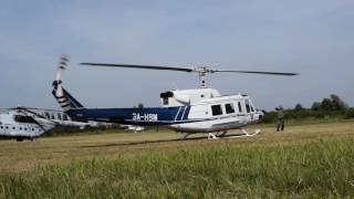 getlinkyoutube.com-Agusta - Bell 212 startup.