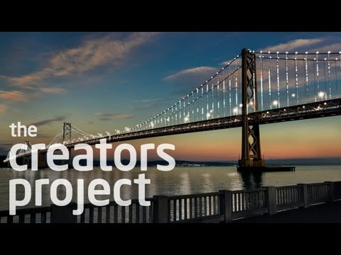 25,000 LEDs Illuminate The San Francisco Bay Bridge