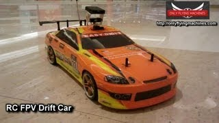 RC Drift Car with FPV in Mall FPV Adventure