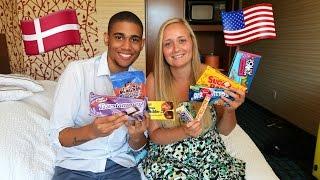 getlinkyoutube.com-American Tries Danish Candy And Dane Tries American Candy
