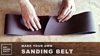 getlinkyoutube.com-Make Your Own Sanding Belt