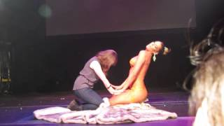 "getlinkyoutube.com-Carmen Carrera- ""Any Time, Any Place"" at the Gramercy Theatre 3/30/13 [part 2]"