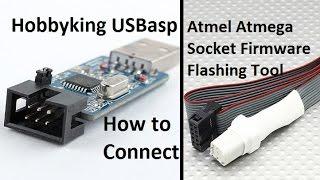 getlinkyoutube.com-Eazy HK USBaps to Atmel Atmega Socket Firmware Flashing Tool Tutorial