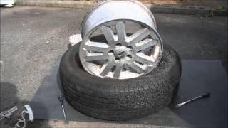 getlinkyoutube.com-手組で自動車のタイヤ交換