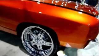 """getlinkyoutube.com-71 Chevy Monte Carlo on 22"""" Asantis: V103 Car Show 2011 - HD"""