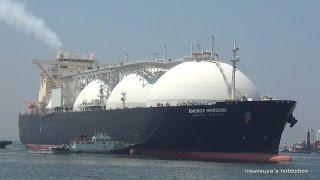 getlinkyoutube.com-ENERGY HORIZON LNGタンカー LNG TANKER SHIP