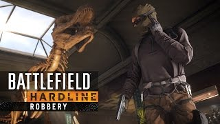 Battlefield Hardline - Robbery's Squad Heist Játékmenet Trailer