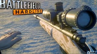 getlinkyoutube.com-Battlefield Hardline Sniper Stealth Mission Gameplay Veteran