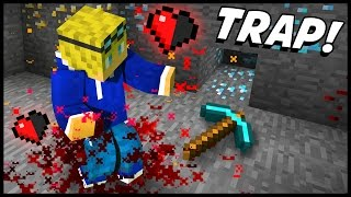getlinkyoutube.com-EXTREMELY DEADLY ORE MINING TRAP! - Minecraft Tutorial