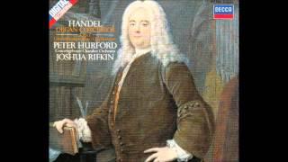 getlinkyoutube.com-G.F. Handel Organ Concertos Op.7, Peter Hurford 1/2