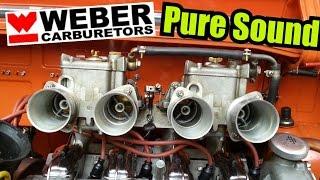getlinkyoutube.com-Weber Engine Sound Special | NSU TT GoPro