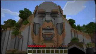 getlinkyoutube.com-Minecraft - Templo de Notch y objetos escondidos