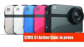 getlinkyoutube.com-Ezviz S1 Action Cam: la prova di Mister Gadget