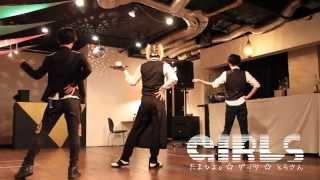 getlinkyoutube.com-【たまひよ。・とらさん・ゲッツ】Girls 踊ってみた【ギガP】