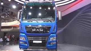 getlinkyoutube.com-MAN TGX 18.640 D38 PerformanceLine Tractor Truck Exterior and Interior in 3D