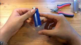getlinkyoutube.com-How to Refill a BIC Lighter