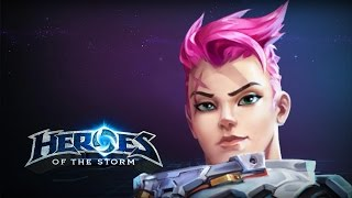 getlinkyoutube.com-♥ Heroes of the Storm (A-Z Gameplay) Zarya (HoTs Quick Match)