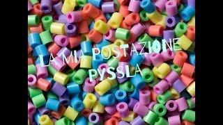 getlinkyoutube.com-La Mia Postazione Pyssla/Hama Beads🍦🍩