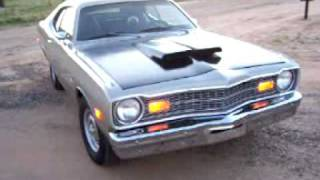 getlinkyoutube.com-Classic Autoworx presents: 1973 Dodge Dart Sport 340 BIG CAM, LOUD FLOWMASTERS, MULTIPLE EARGASMS!