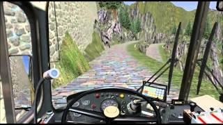 getlinkyoutube.com-Omsi - Simulador de ônibus - Roemerberg V2.0 - Gletscher Xpress.