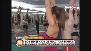 getlinkyoutube.com-Salfate llevó al equipo a practicar Bikram Yoga