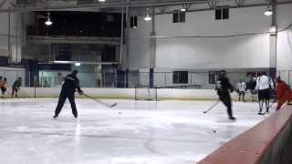 getlinkyoutube.com-NHL Hockey passing drills