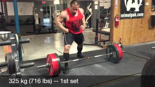 getlinkyoutube.com-Dan Green (220) Deadlift Training