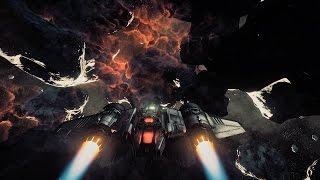 Star Citizen 2.6.2 PTU - Flying Drake Buccaneer (TrackIR) and EVA mission