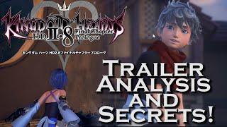 getlinkyoutube.com-Kingdom Hearts 2.8 E3 2016 Trailer - ANALYSIS & SECRETS!