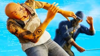 getlinkyoutube.com-IMPOSSIBLE FIGHT THAT NO ONE CAN BEAT! (Watch Dogs 2 Funny Moments)