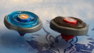 Gingka vs Doji - Storm Pegasus 105RF vs Dark Wolf DF145FS - Metal Fight Beyblade Battle!
