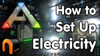 getlinkyoutube.com-ARK How to Set Up An Electrical Grid & Devices