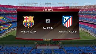 getlinkyoutube.com-FIFA 16 - FC Barcelona vs. Atlético Madrid @ Camp Nou
