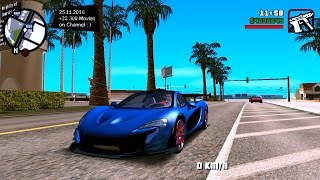 McLaren P1 For Android - GTA Mobile Mods Gameplay