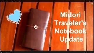 getlinkyoutube.com-Update: Midori Traveler's Notebook (BuJo) |l ep.10