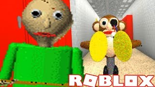 NEW CYMBAL MONKEY CHARACTER | ROBLOX Baldi's Basics in Education and Learning
