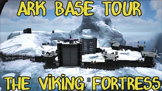 getlinkyoutube.com-ARK: Survival Evoled - Viking Fortress Base Tour