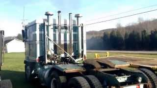 Detroit Diesel 12v71 Cold Start and Rev