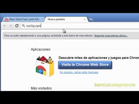 Descarga videos y Musica en vuclip para tu celular Rapido (sin limite) youtube Tutorial ¡Explicado!
