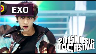 getlinkyoutube.com-[2015 MBC Music festival] 2015 MBC 가요대제전 - EXO - CALL ME BABY, 엑소 - CALL ME BABY 20151231