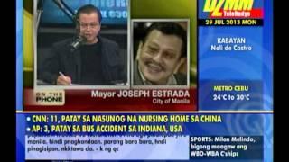 getlinkyoutube.com-Erap on traffic: Huwag niyo kaming apurahin