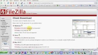 getlinkyoutube.com-Filezilla FTP Client To Transfer Files