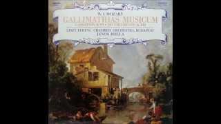 Mozart: Cassation in B flat K. 99 (L.F.C.O. - Janos Rolla - 1987 vinyl LP)