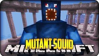 getlinkyoutube.com-Minecraft Mods - MUTANT  SQUID BOSS! - Derpy Squid Mod Showcase