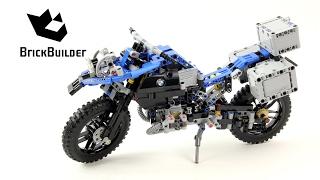 Lego Technic 42063 BMW R 1200 GS Adventure - Lego Speed Build