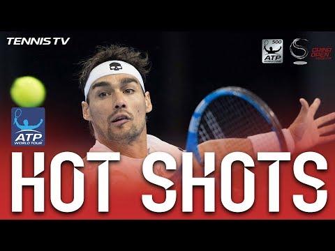 Hot Shot: Fognini Thwarts Zverev At Net In Beijing 2017